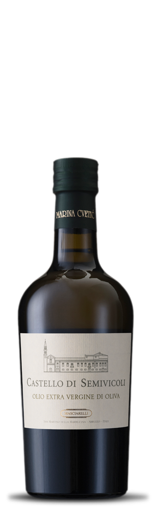 Olio Extra Vergine d'oliva Castello di Semivicoli