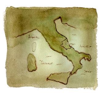 Cartina Abruzzo